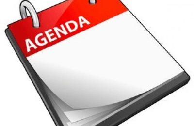 Agenda ALV 2020
